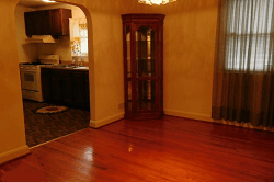Dining room before purchase.